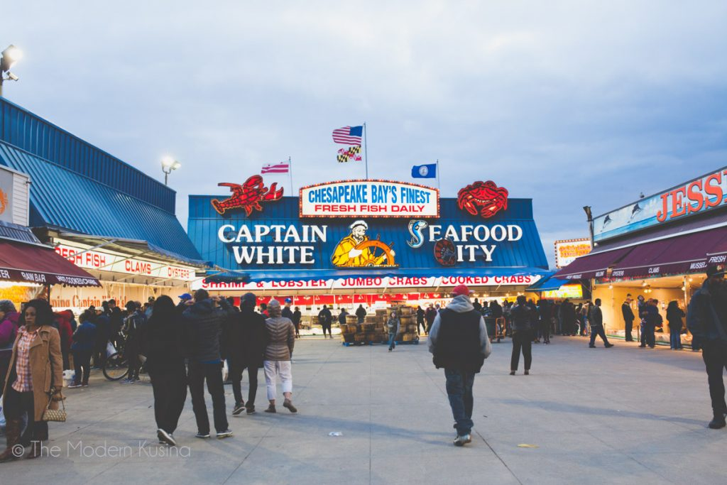 Washington DC Fish Market
